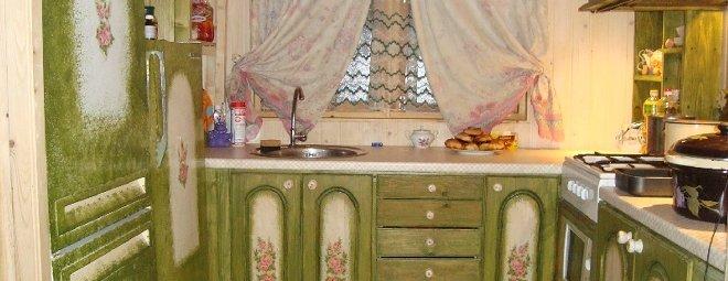 Как покрасить фасад кухни своими руками