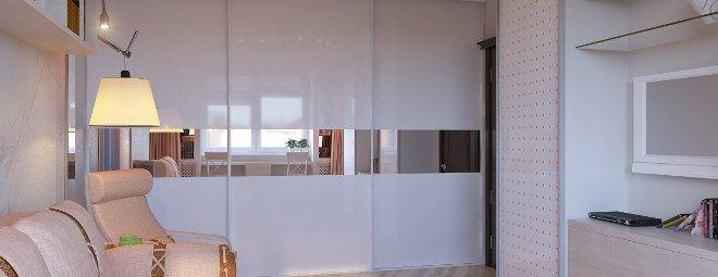 Куда поставить шкаф-купе в однокомнатной квартире: фото, интересные идеи