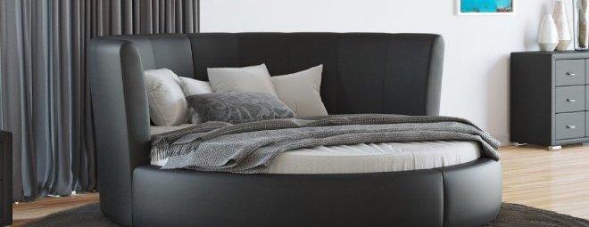 Круглая кровать – незаурядный вариант спального места