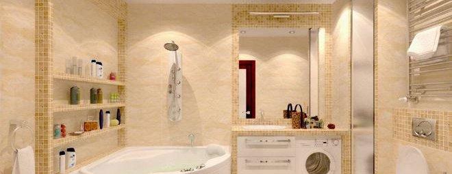 Дизайн ванной комнаты в 5 квадратных метров