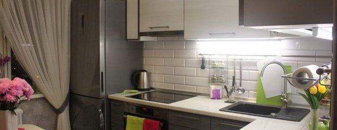 Дизайн кухни 8 кв. м