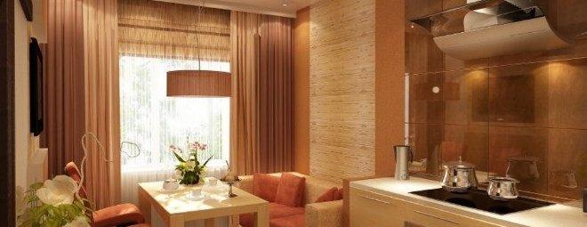 Дизайн кухни 14 кв.м.